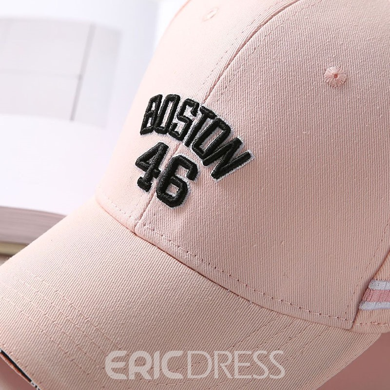 Ericdress Casual Letter Summer Hat