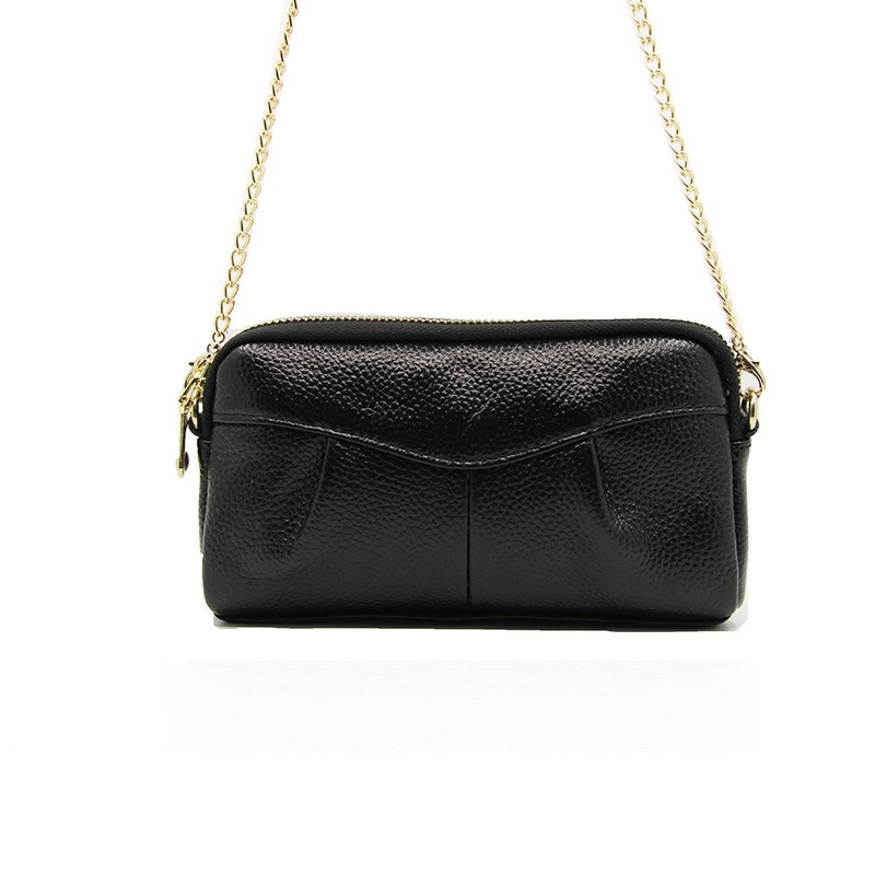 Ericdress Plain Thread PU Rectangle Shoulder Bags