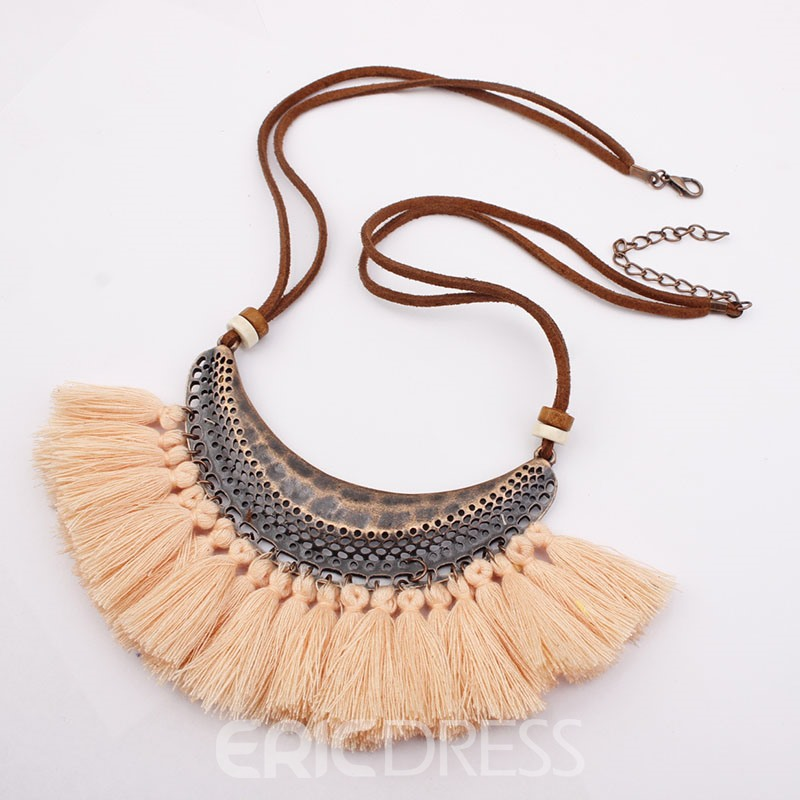 Ericdress Tassels Female Necklaces