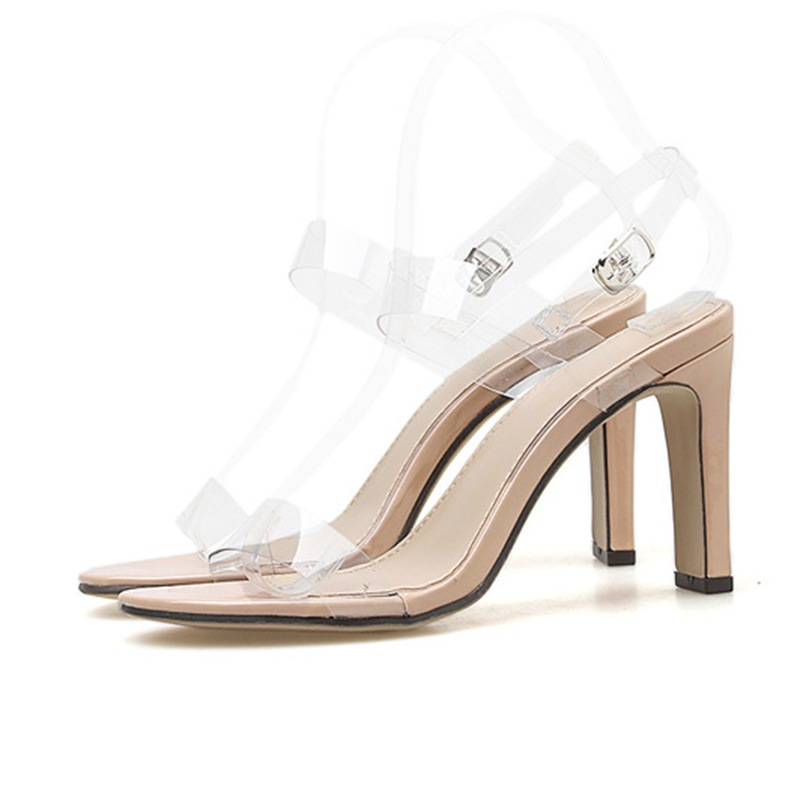 Ericdress Chunky Heel Slingback Strap Women's Sandals