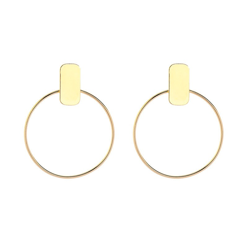Ericdress Hoop E-Plating Fashion Earrings