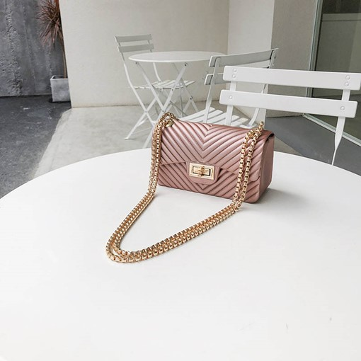 Ericdress Plain PU Rectangle Crossbody Bags