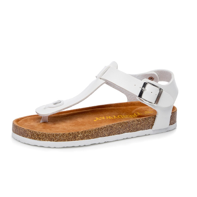 Ericdress PU Thong Slip-On Women's Flat Sandals