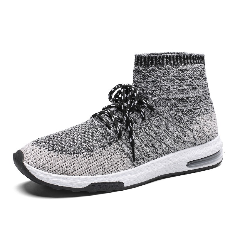 Ericdress Mesh Round Toe Lace-Up Sneakers For Men