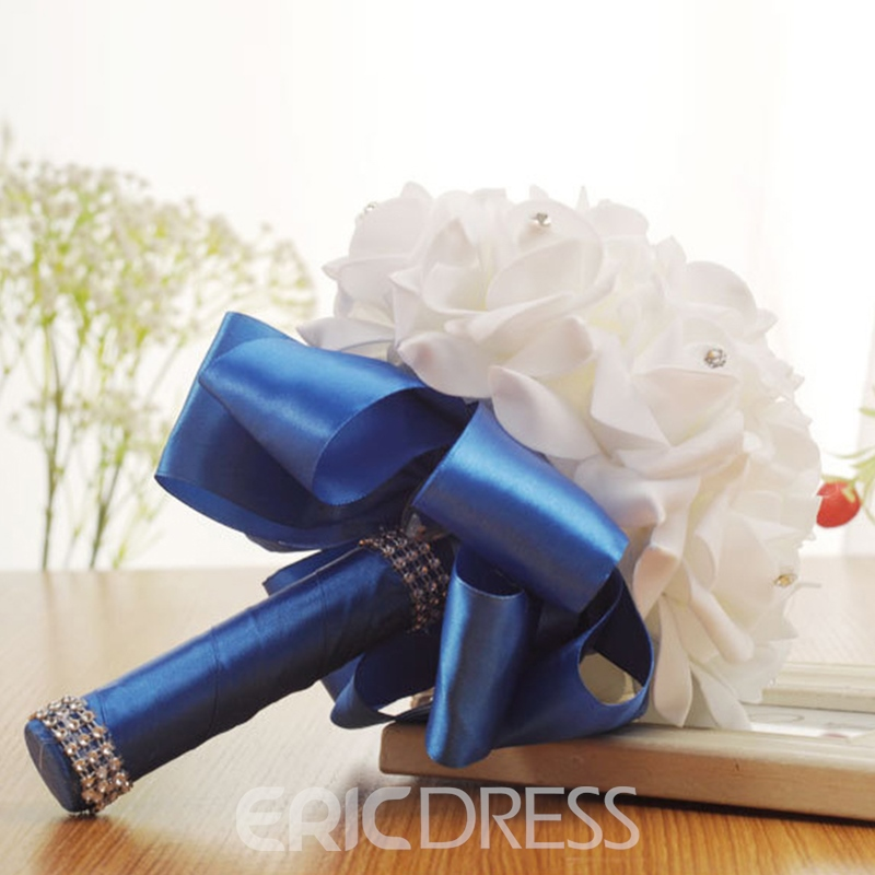 European Beading Rose Wedding Bouquet