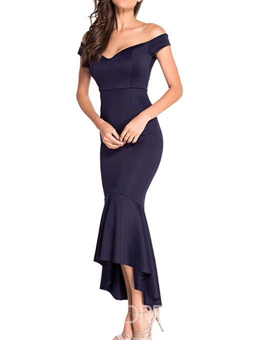 Ericdress Sleeveless Ankle-Length Pullover Mermaid Dress