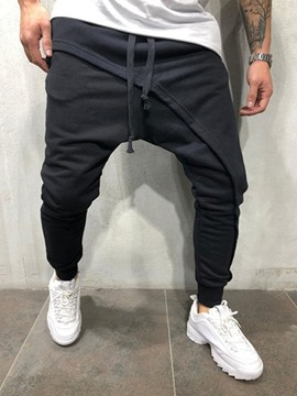 Ericdress Plain Mens Casual Pants