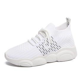 Ericdress Mesh Plain Round Toe Lace-Up Women's Sneakers