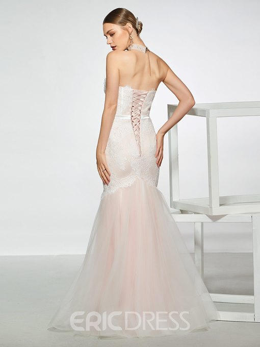Ericdress Sweetheart Mermaid Lace Wedding Dress