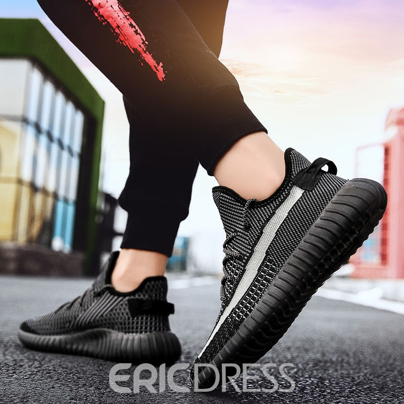 Ericdress Mesh Lace-Up Sneakers For Men