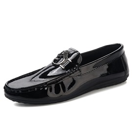 Ericdress Plain Slip-On Men's Loafers Shoes