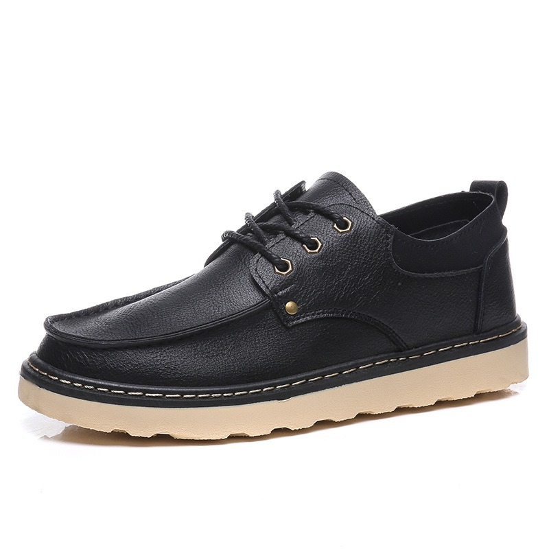 Ericdress PU Round Toe Men's Casual Shoes