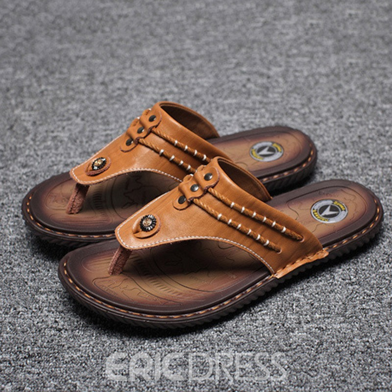 Ericdress Thong Men's Casual Slippers