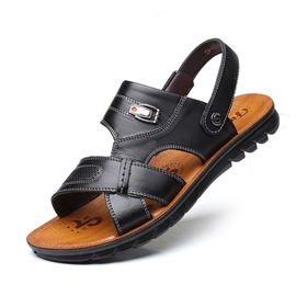 Ericdress Plain Slip-On Men's Sandals