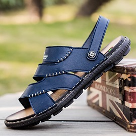 Ericdress Plain Slip-On Men's Casual Sandals