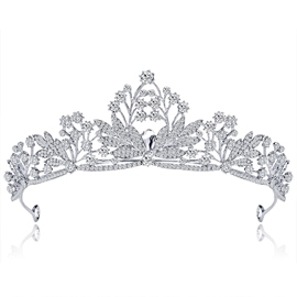 Tiara Gemmed European Hair Accessories (Wedding)