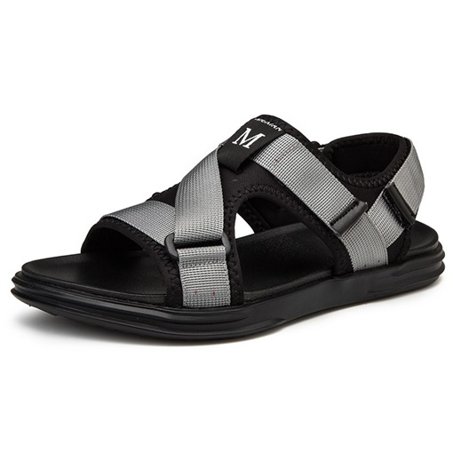 Ericdress Letter Velcro Men's Sandals