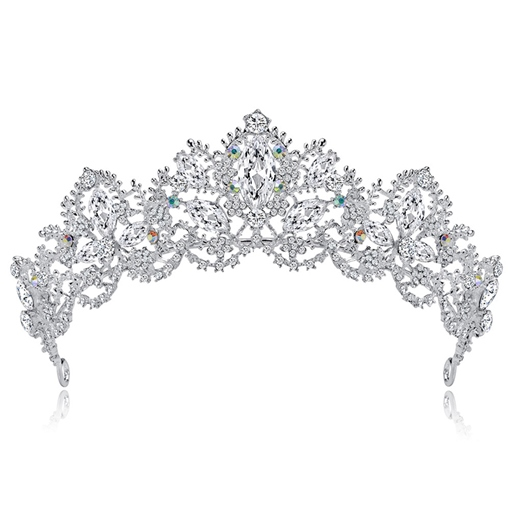 Gemmed Crown European Hair Accessories (Wedding)