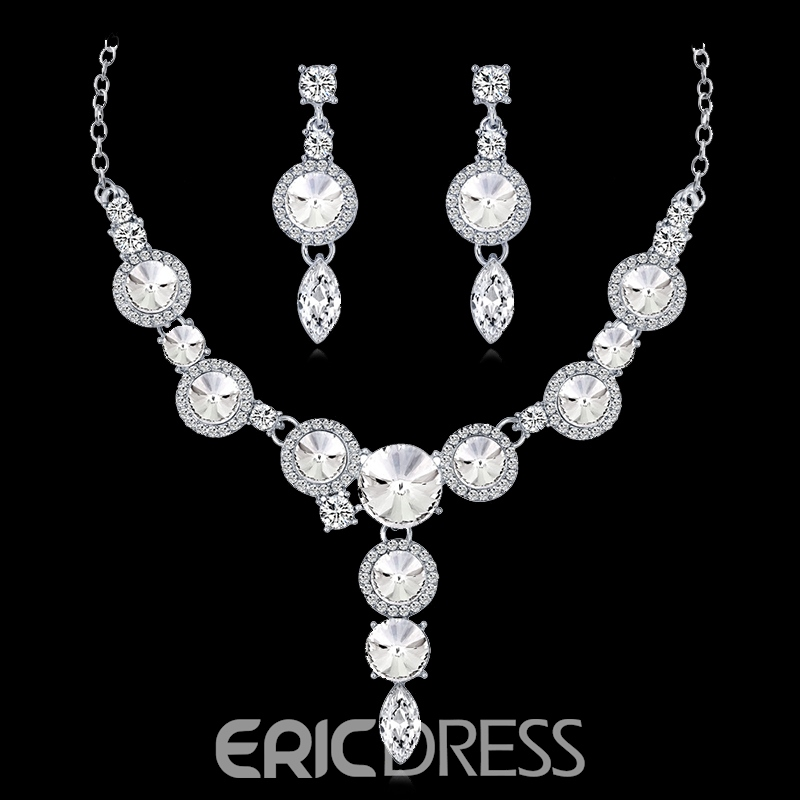 ohrringe european floral jewelry sets (hochzeit)