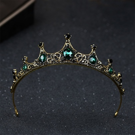 Gemmed Tiara Vintage Hair Accessories (Wedding)