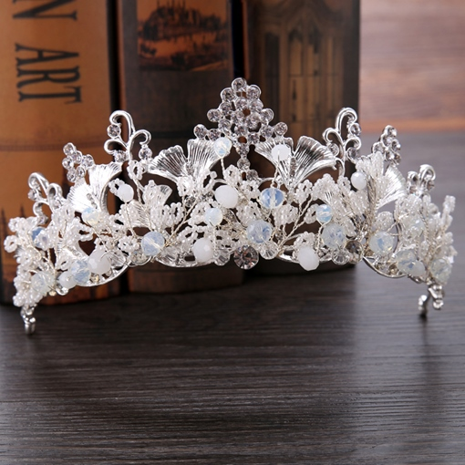 Tiara Inlaid European Hair Accessories (Wedding)
