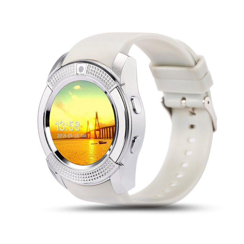Ericdress Full Circle Screen Phone Card Smart Watch