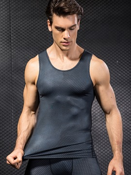 Ericdress Men Sleeveless Pullover Sports Tank Tops