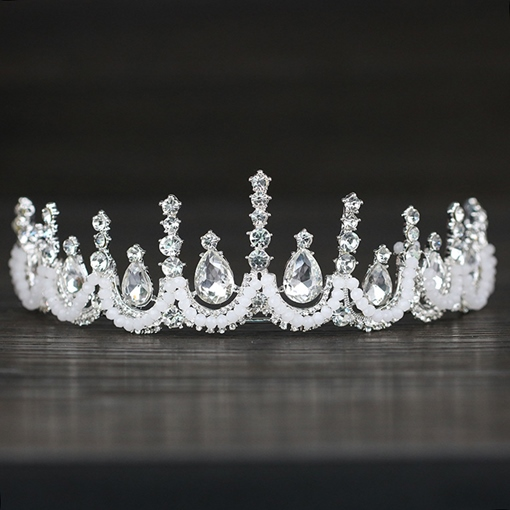 Ericdress Tiara Gemmed Crown Hair Accessories (Wedding)