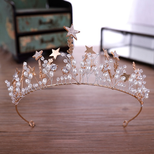 Ericdress Star Korean Tiara Floral Hair Accessories (Wedding)