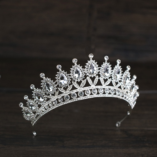 Tiara European Gemmed Hair Accessories (Wedding)