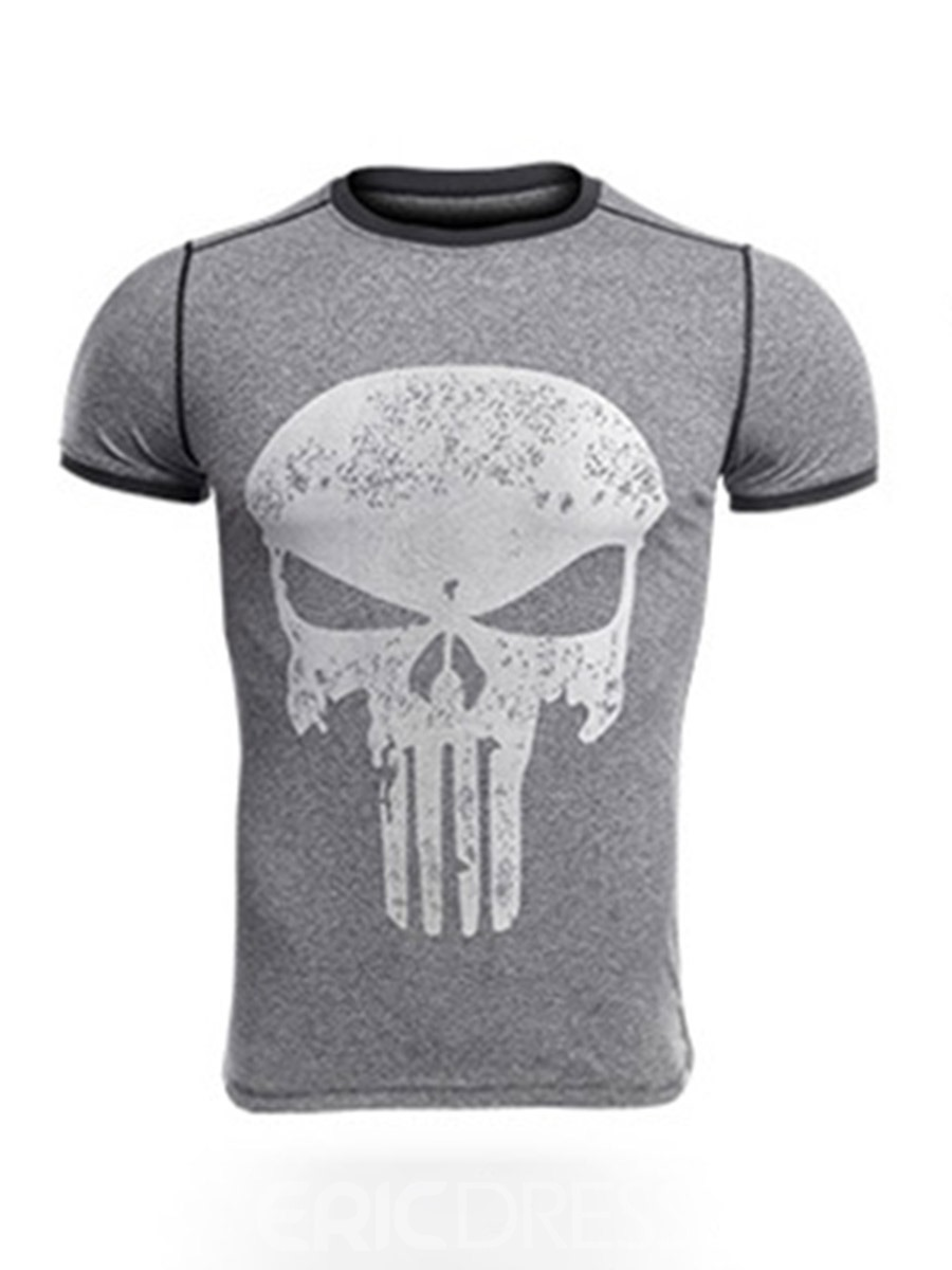 Ericdress Men Print Pullover Sports Tops