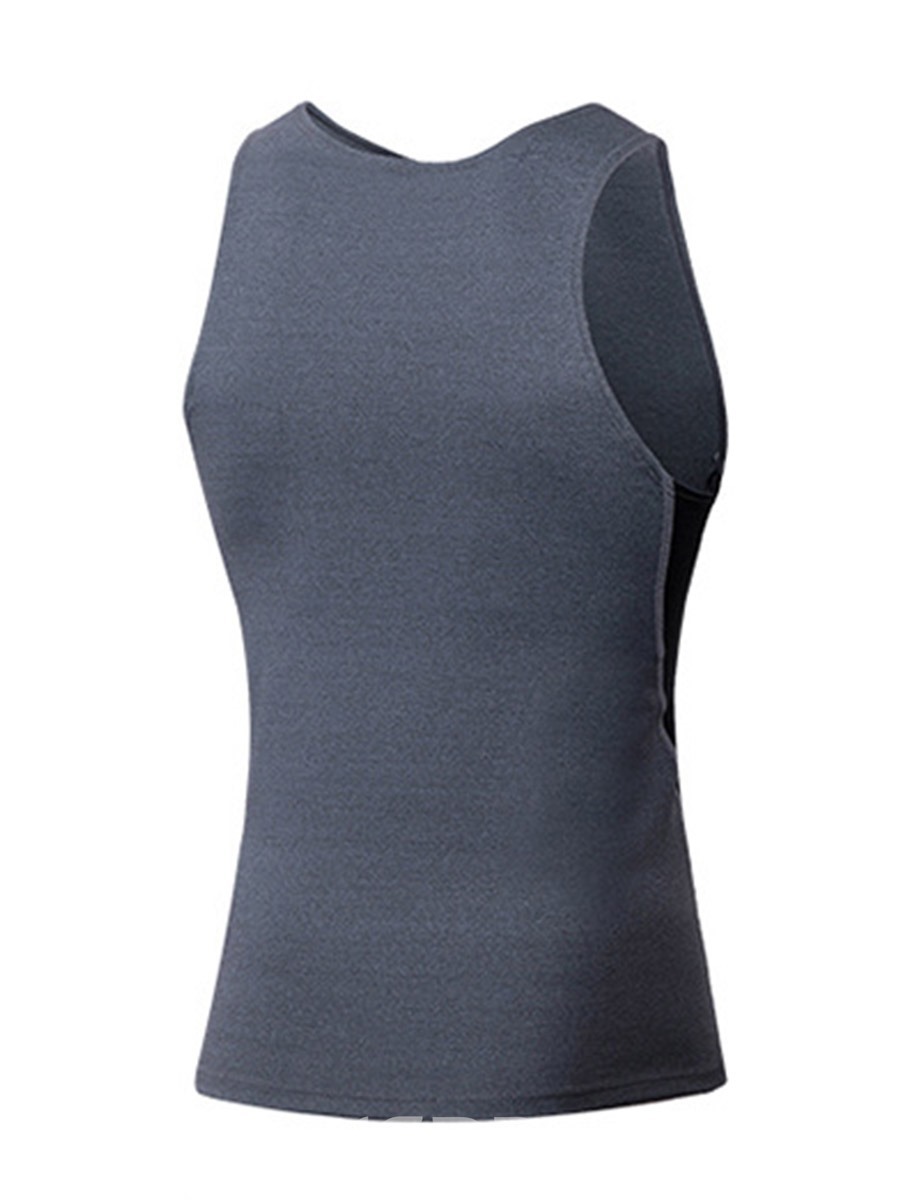 Ericdress Polyester Color Block Running Pullover Sports Tank Tops