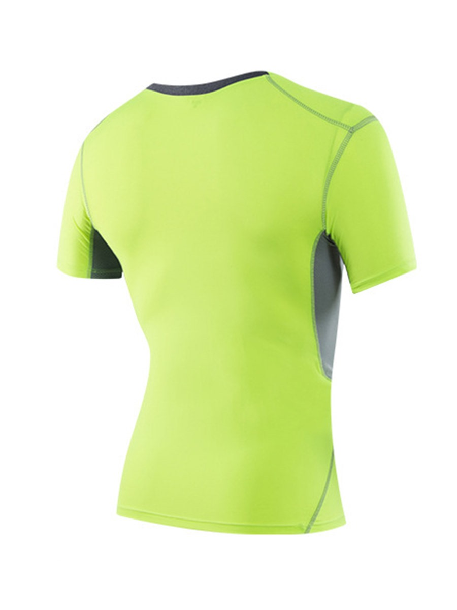 Ericdress Men Anti-Sweat Color Block Running Short Sleeve Tops