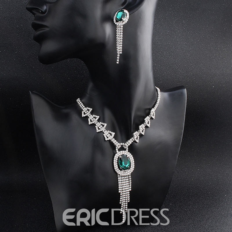Ericdress Gemmed Earrings European Jewelry Sets (Wedding)