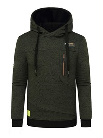 Ericdress Pullover Pocket Men's Hooded Hoodies