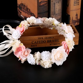 Handmade Floral Bridal Hairband