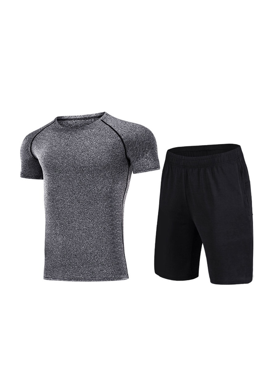 Ericdress Anti-Friction Knee Length Short Sleeve Sports Sets