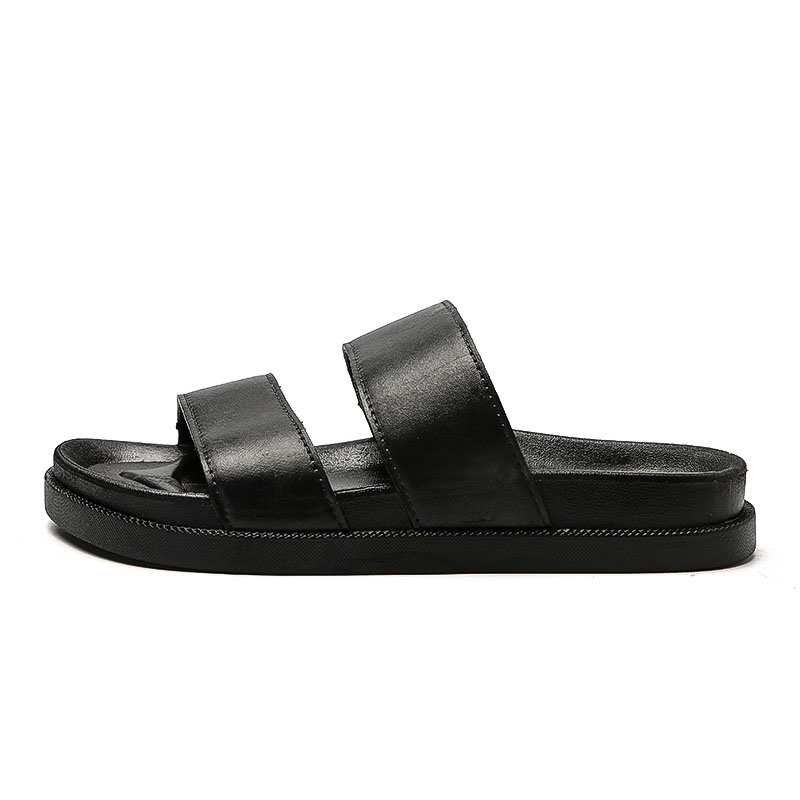 Ericdress Plain Slip-On Men's Beach Slippers