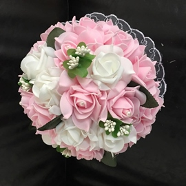 Rose Korean Cloth Wedding Decorating Flowers