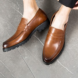 Ericdress Plain Round Toe Men's Shoes