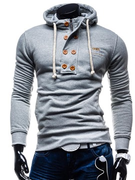 ericdress lettre pull pull mince hoodies