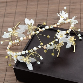 European Handmade Floral Hair Accessories (Wedding)