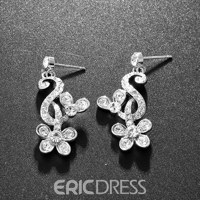 Ericdress E-Plating Floral Necklace Jewelry Sets (Wedding)