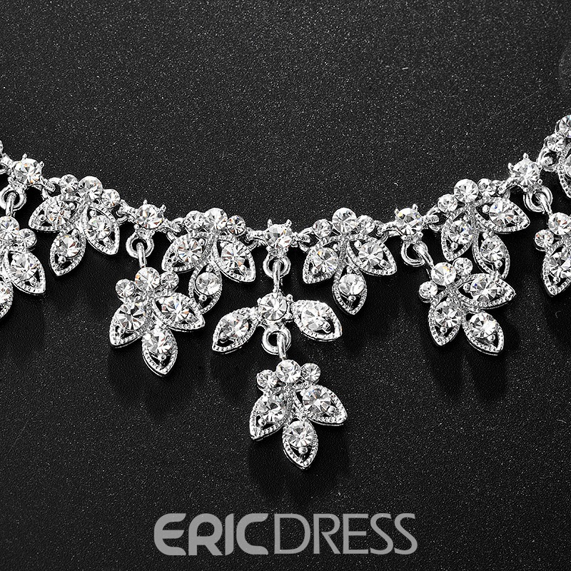 E-Plating Korean Water Drop Jewelry Sets (Wedding)
