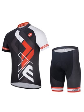 Ericdress Bickle UV Protection Short Sleeve Knee Length Sports Sets