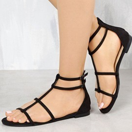 Ericdress Block Heel Heel Covering Women's Flat Sandals
