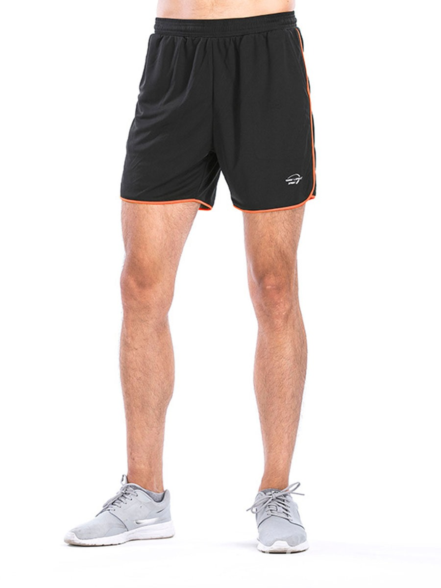 Ericdress Men Color Block Quick Dry Shorts Sports Pants