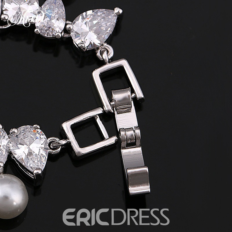 European Spherical Earrings Jewelry Sets (Wedding)