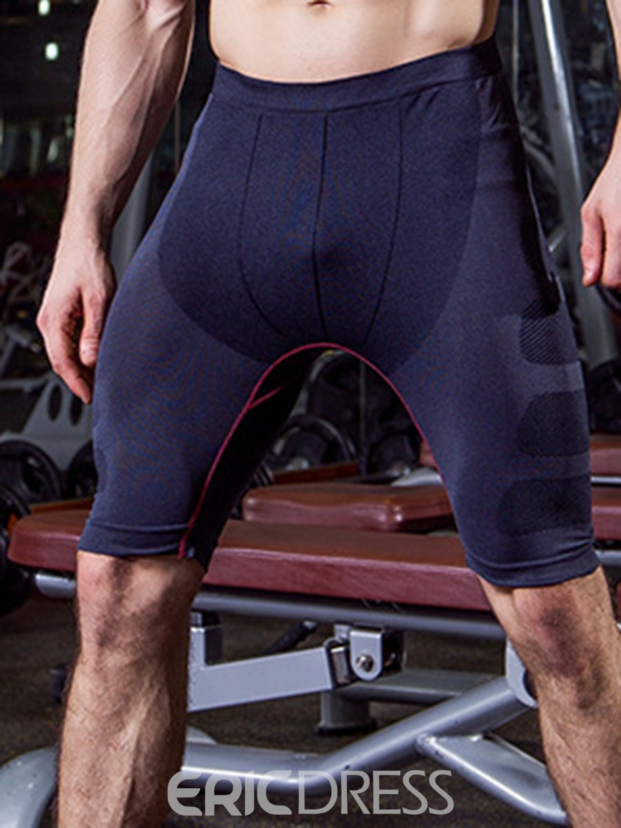 Ericdress Men Sport Shorts Quick Dry Running Pants