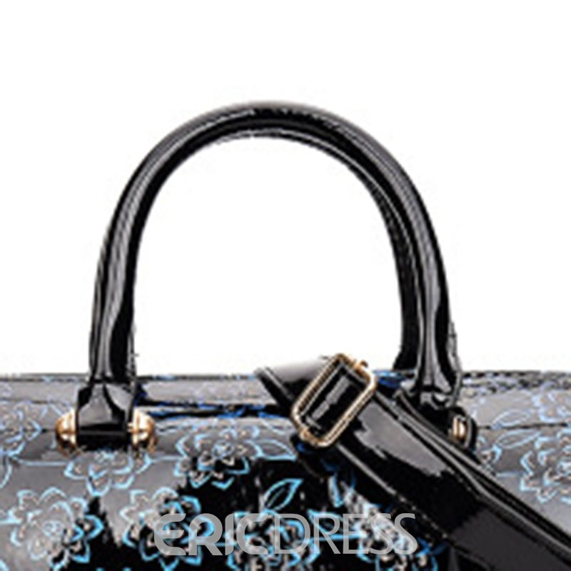 Ericdress Floral European PU Handbags